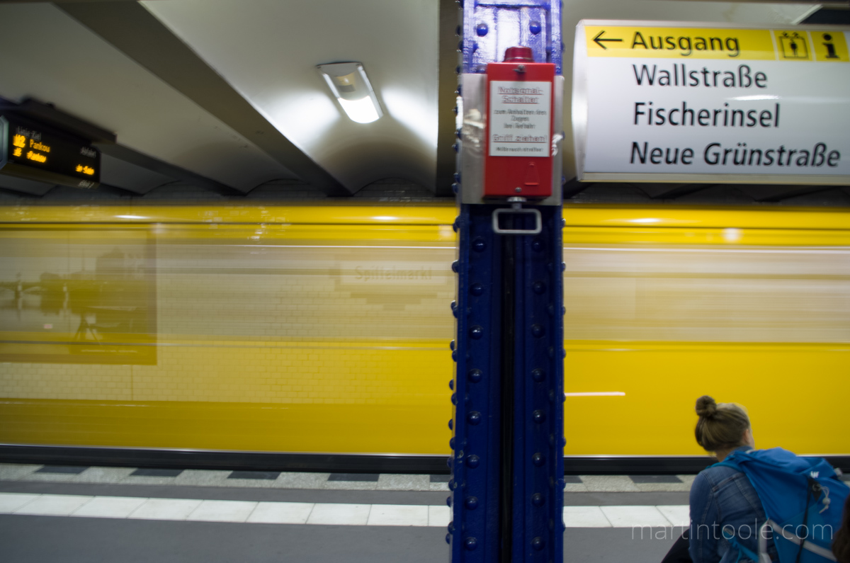 berlin underground is amazing and yellow