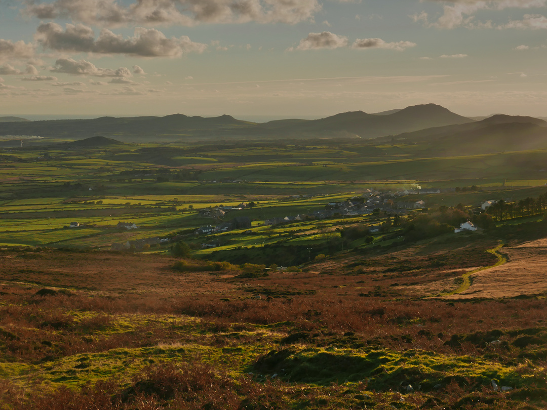 Llithfaen Landscape On An Autumnal Evening