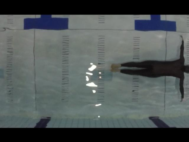 Aerial Dynamic No Fins Freediving Pool Photo
